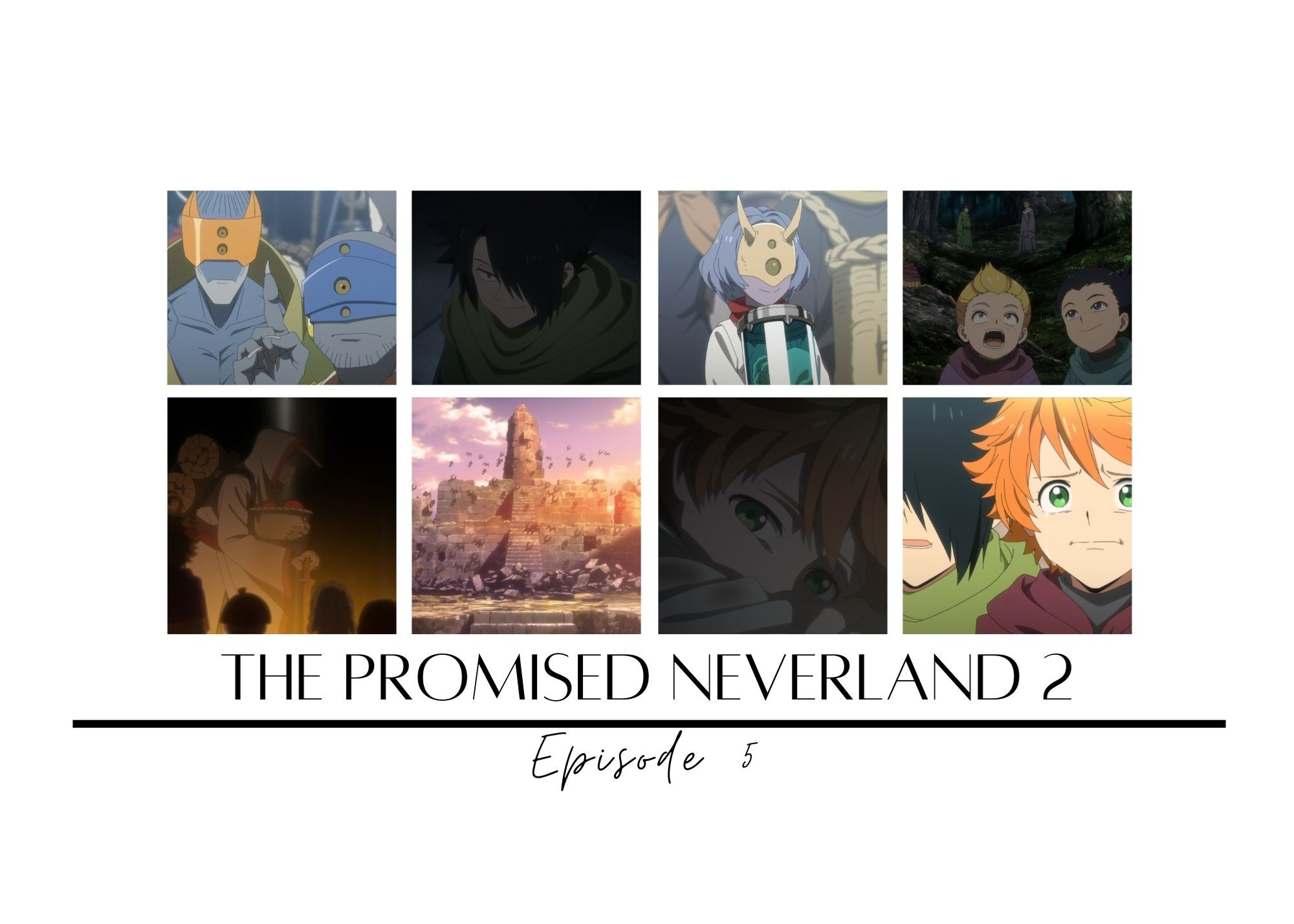 Featured image for The Promised Neverland 2 episode 5 – Liar's Dice