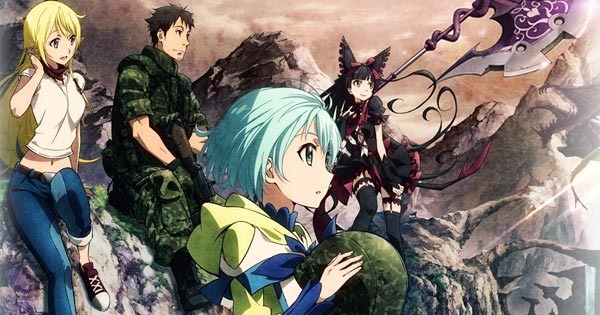 Featured image for Anime Series Like Gate: Thus the JSDF Fought