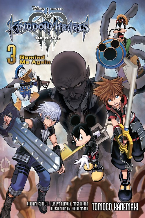 Featured image for Kingdom Hearts III: The Novel Volume 3: Remind Me Again Review