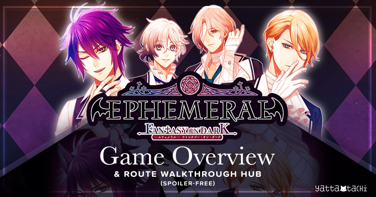 Featured image for Ephemeral -Fantasy on Dark- Overview & Spoiler‑Free Route Walkthroughs Hub