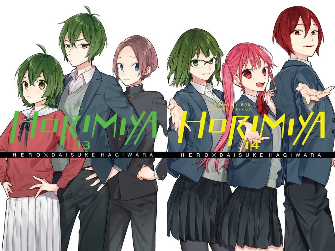 Featured image for Horimiya Volumes 13 and 14 Review