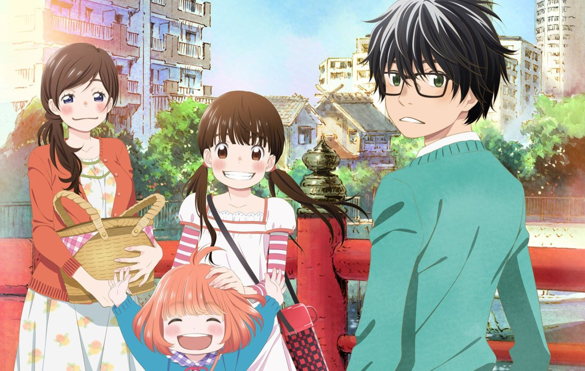 Featured image for Sangatsu no Lion – Rei comes in like a tidal wave