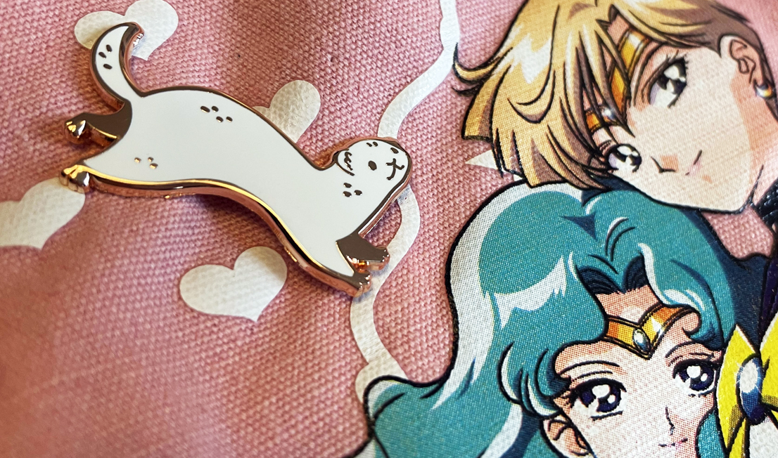 Featured image for Lesbian Ferret Club Pin!