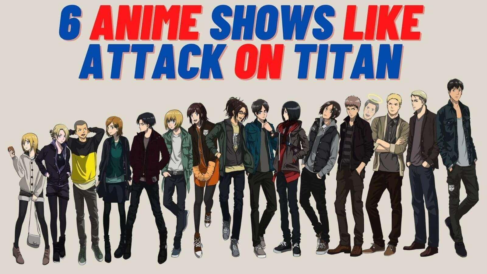 Featured image for 6 Similar Anime Shows To Watch After Attack On Titan Finale