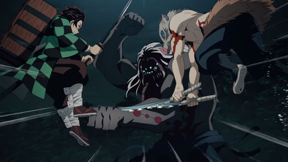 Featured image for Demon Slayer: Kimetsu no Yaiba – 18 – Big Bad Spider Daddy