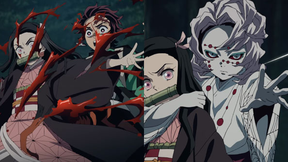 Background image for Demon Slayer: Kimetsu no Yaiba – 19 – The Unseverable Fire