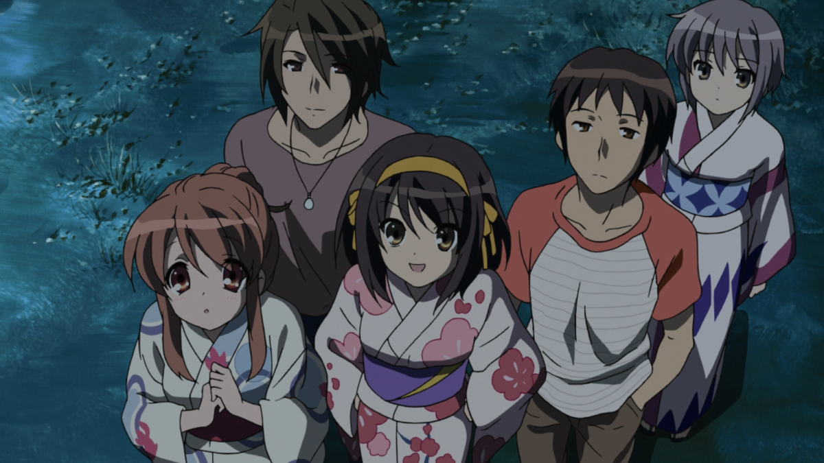 """Featured image for In Defense Of Haruhi Suzimiya's """"Endless Eight"""" Arc"""
