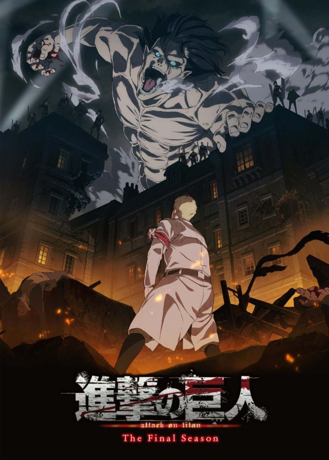Featured image for Attack on Titan – Who is Eren Fighting?