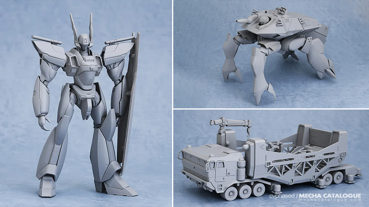 """Featured image for #WonHobby32: New MODEROID """"Patlabor"""" and PLAMAX """"Votoms"""" Kits"""