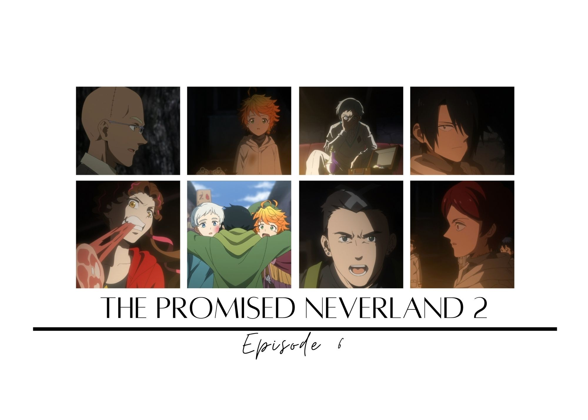 Featured image for The Promised Neverland 2 episode 6 – Risk