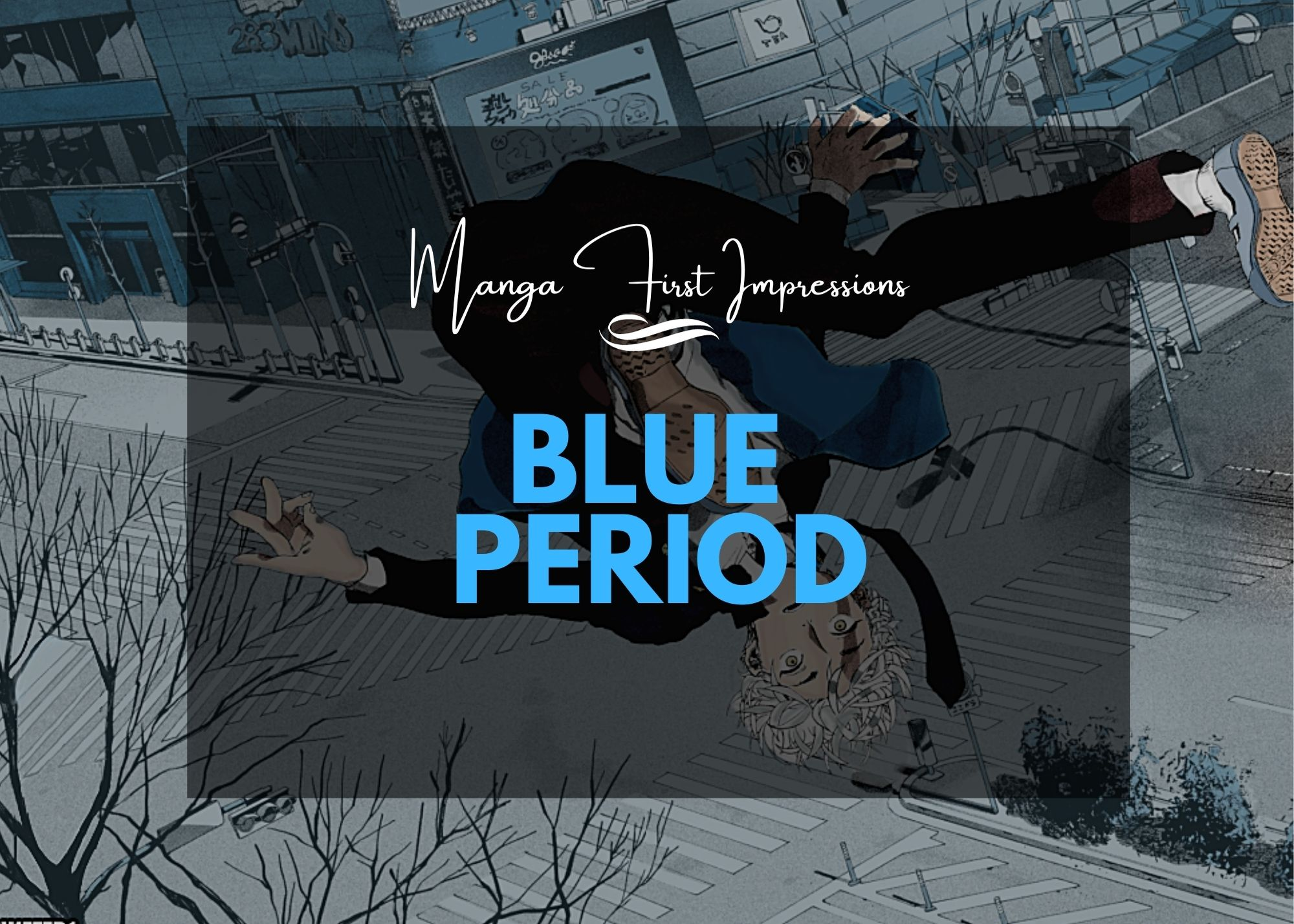Featured image for Manga First Impression – Blue Period