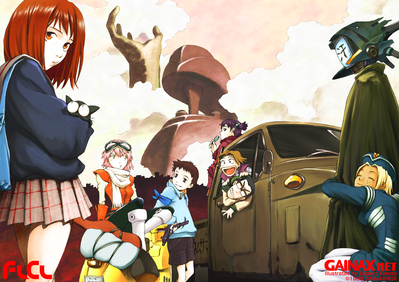 Featured image for The Weirdest Anime Ever – FLCL Review