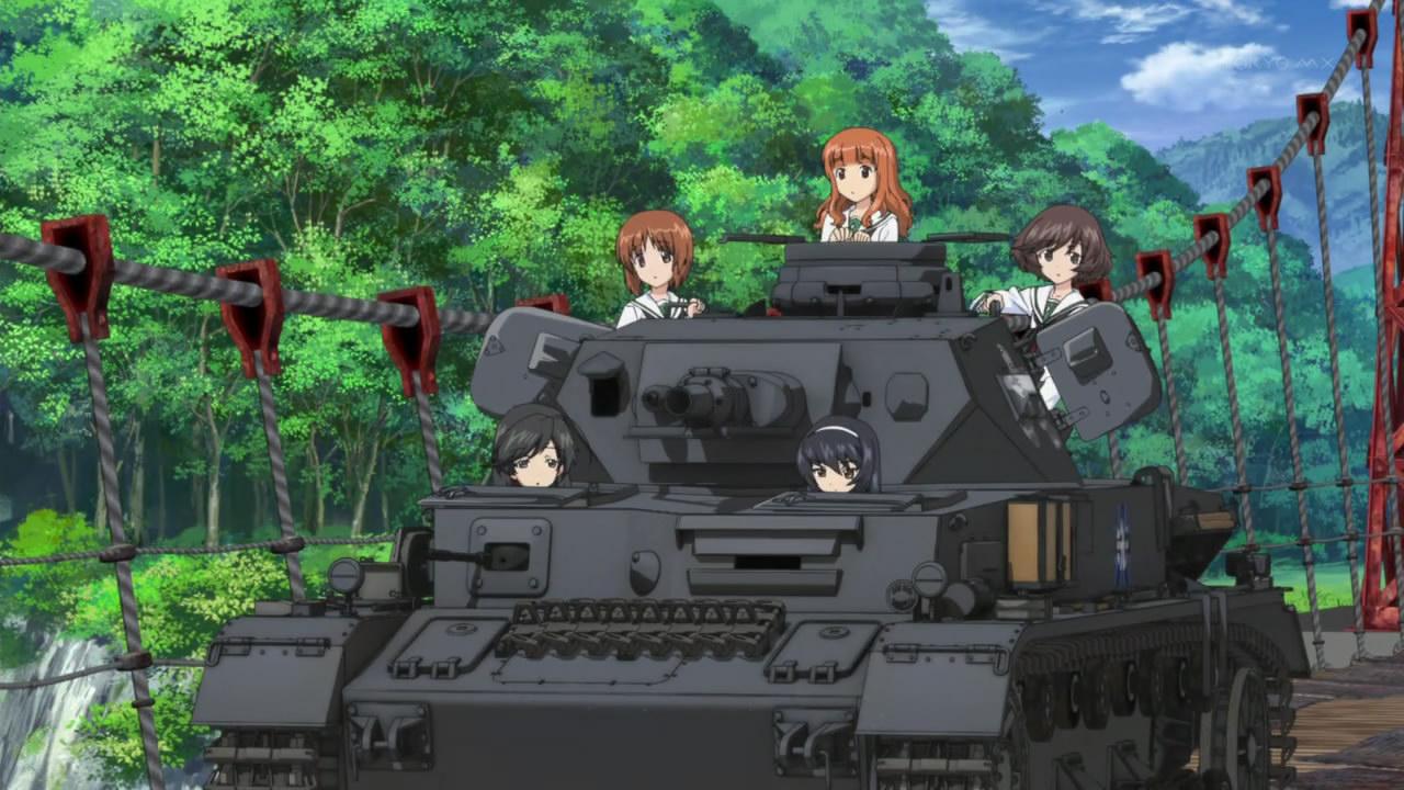 Featured image for Girls und Panzer