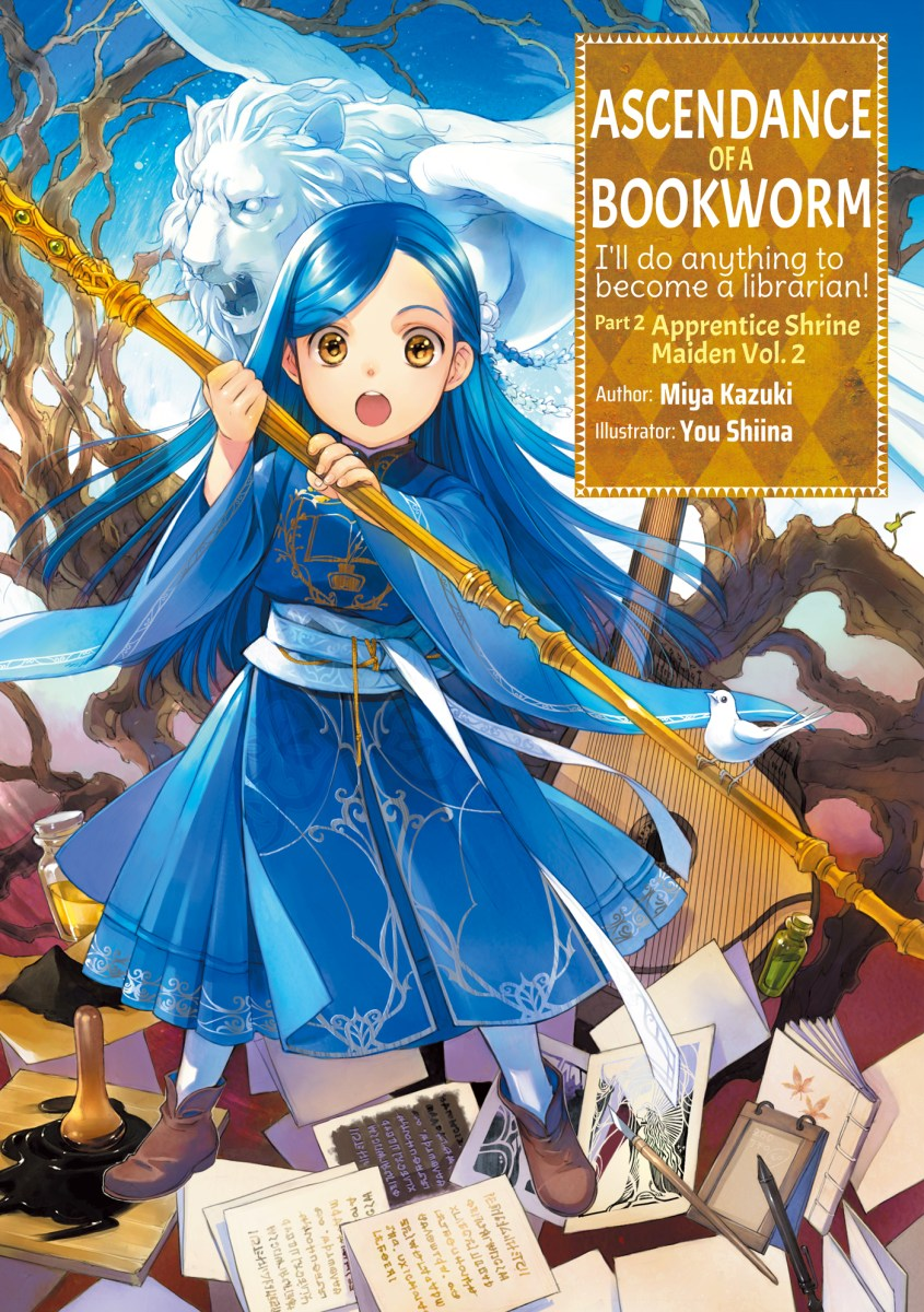 Featured image for Review: Ascendance of a Bookworm: Part 2, Vol. 2