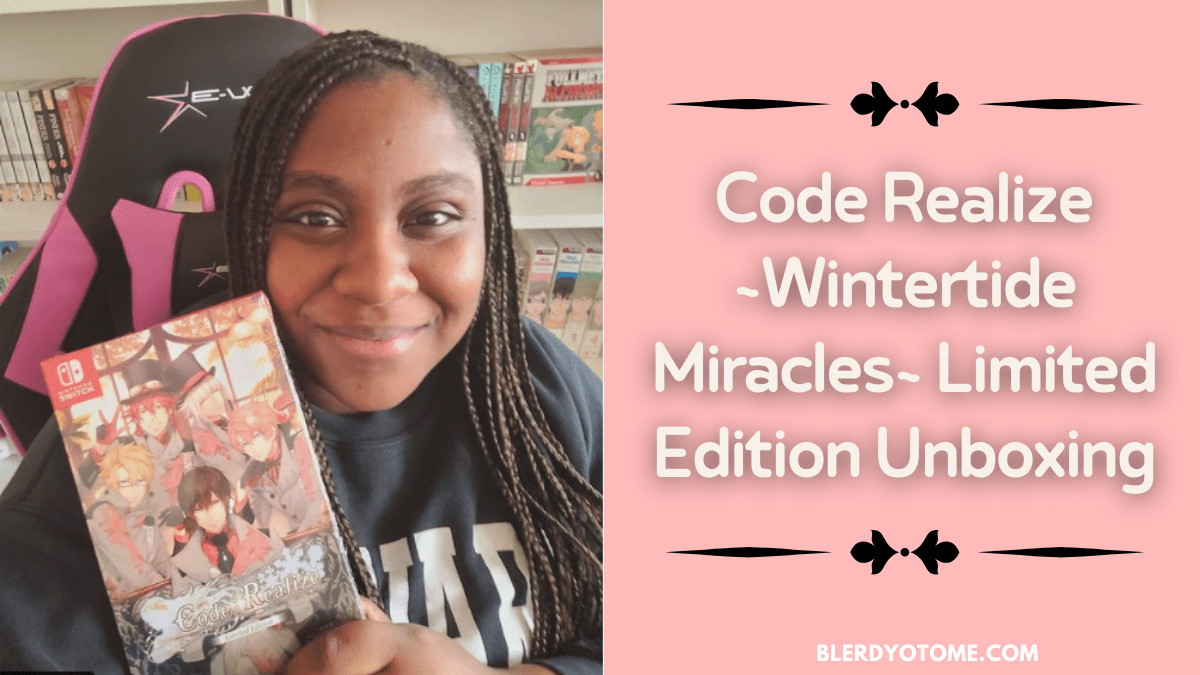Featured image for Code Realize Wintertide Miracles Limited Edition Unboxing