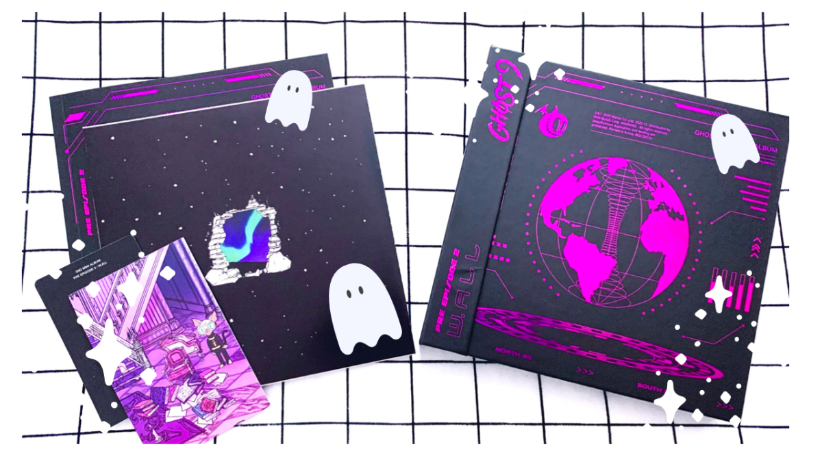 Featured image for More GHOST9! – PRE EPISODE 2 : W.ALL || K-pop Album Unboxing