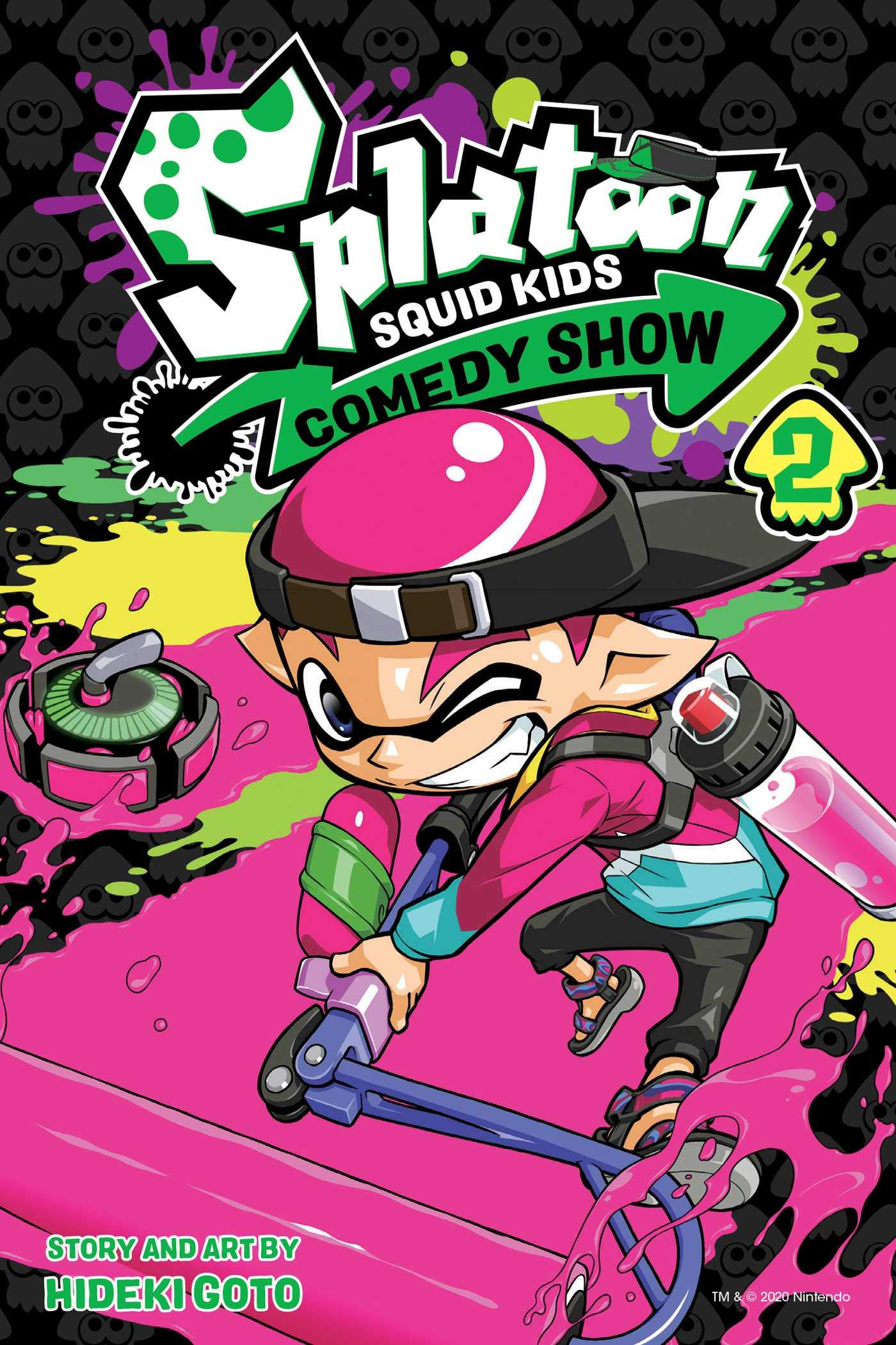 Featured image for Thoughts on Splatoon: Squid Kids Comedy Show Volume 2