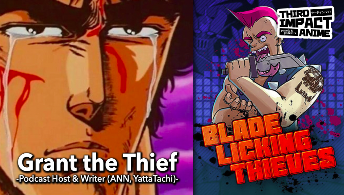 Featured image for Episode # 106 – Interview with Podcaster & Writer, Grant The Thief!