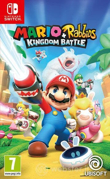 Featured image for Mario + Rabbids: Kingdom Battle (Switch)