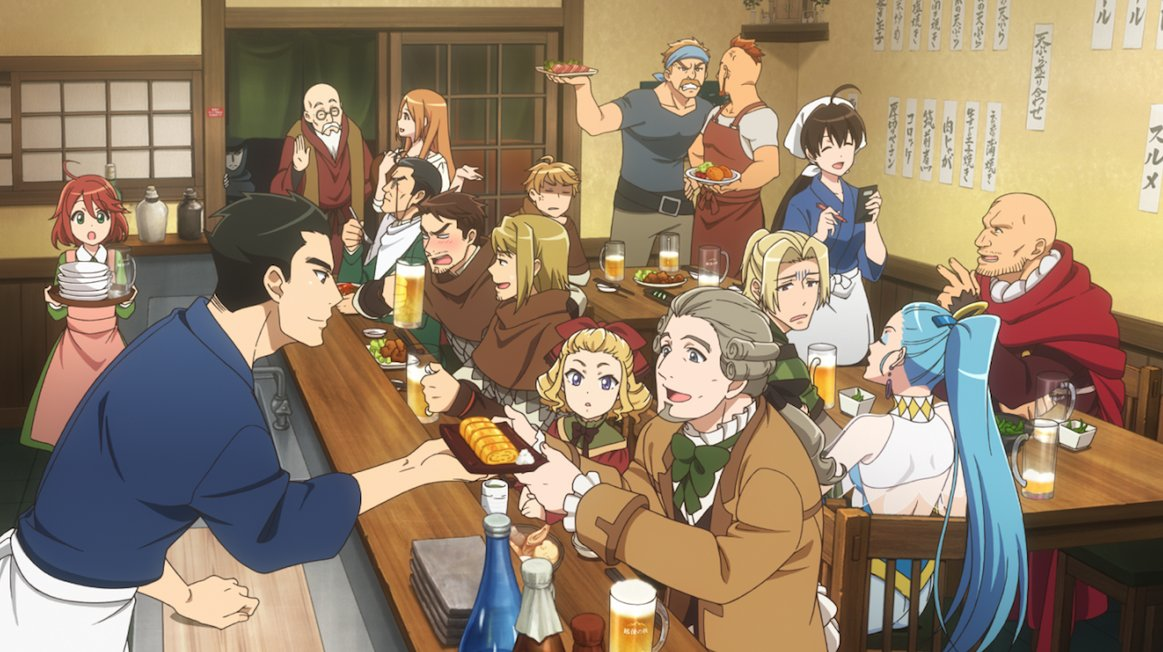 Featured image for Fragglepuss Anime Review 301: Isekai Izakaya: Japanese Food From Another World