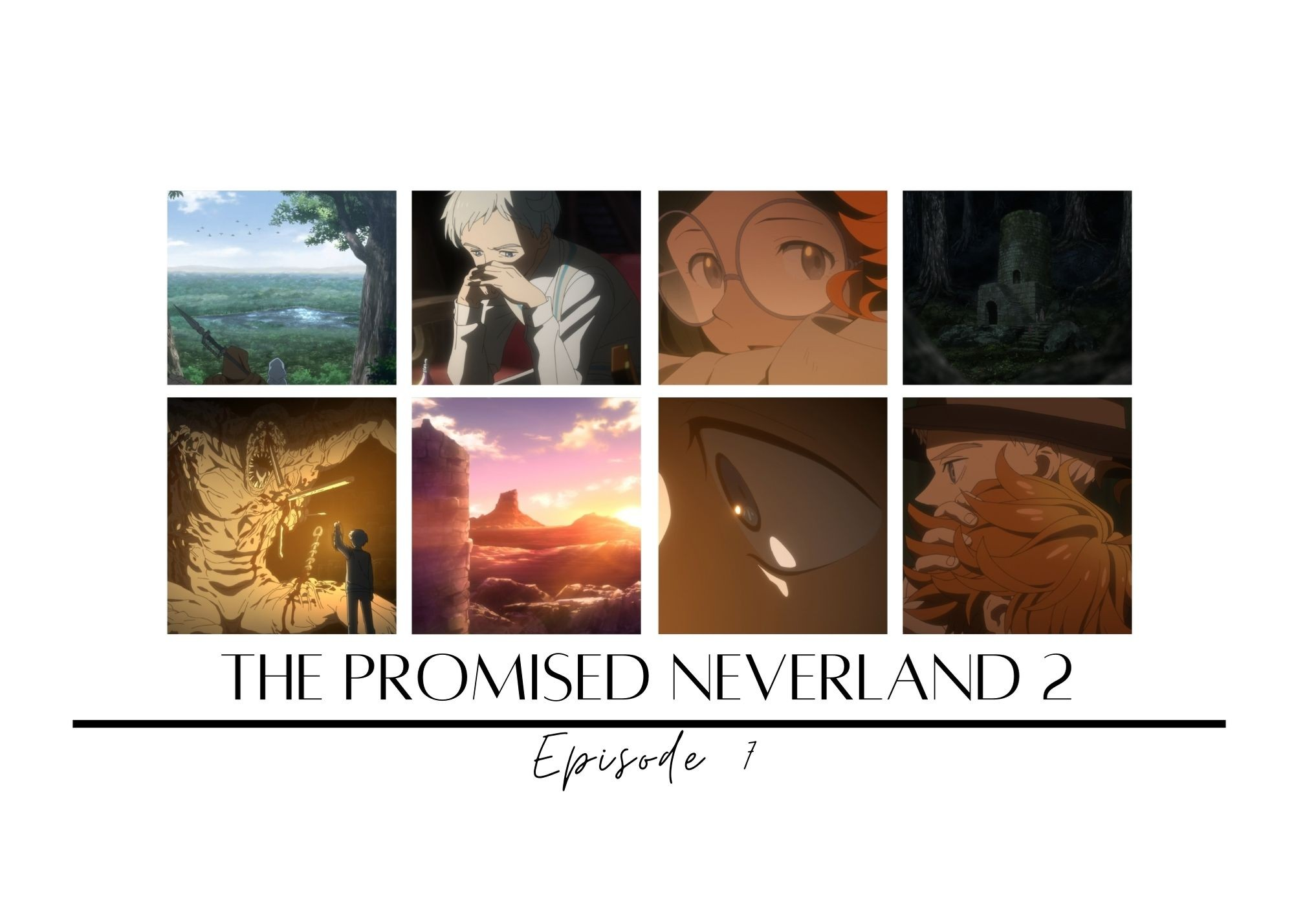 Featured image for The Promised Neverland Season 2 Episode 7 – Deep Wounds and Springs Eternal — Crow's World of Anime