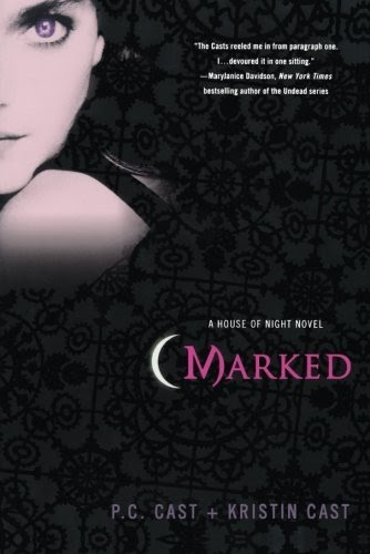 Featured image for Book: Marked by P.C. Cast & Kristen Cast (House of Night #1)