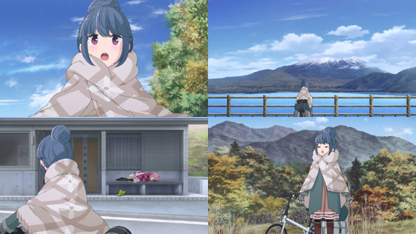Featured image for Yuru Camp△ – 01 (First Impressions) – So Amazing, So Tiny
