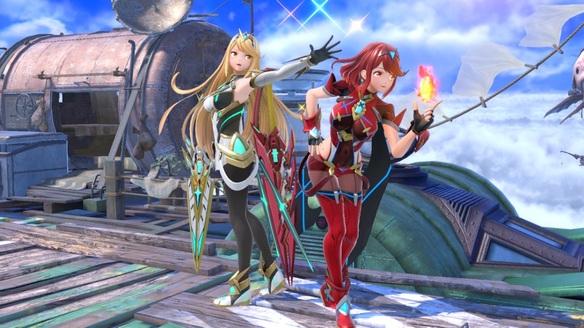 Featured image for Pyra and Mythra might be my new Smash mains