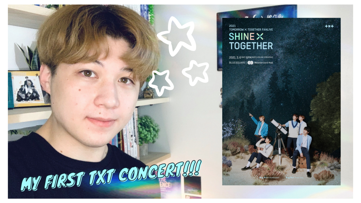 Background image for TXT Fanlive SHINE x TOGETHER || Thoughts & Reflection