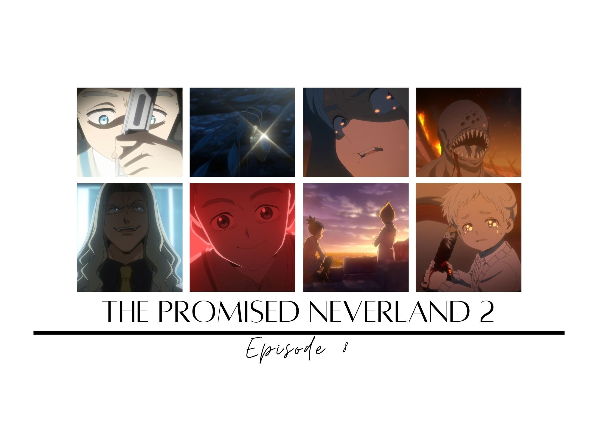 Featured image for The Promised Neverland 2 episode 8 – Old Maid
