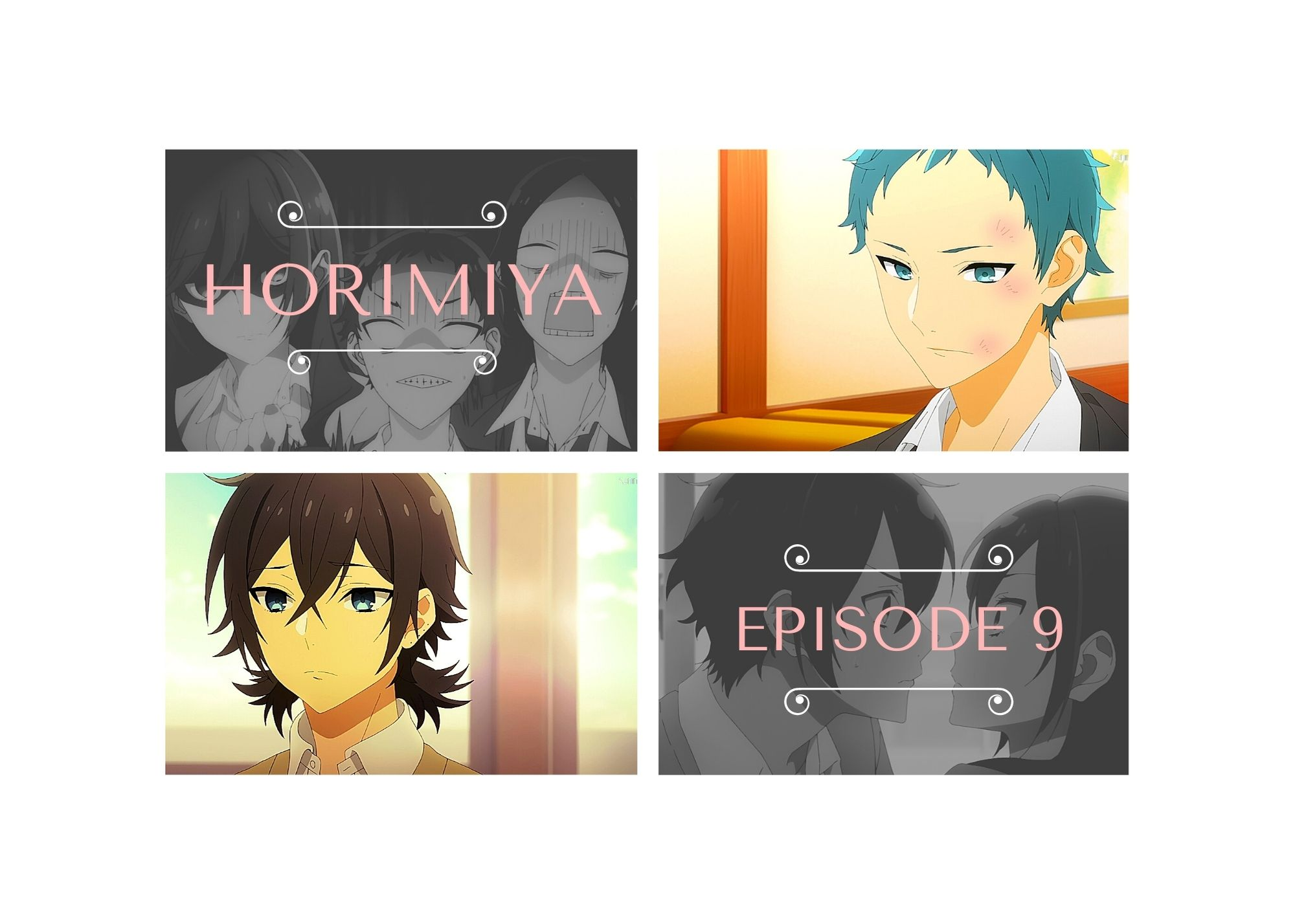 Featured image for Horimiya with IriMoya – episode 9 — I drink and watch anime