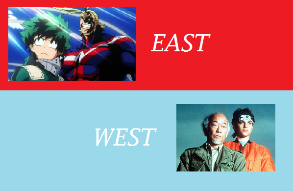 Featured image for East Meets West #3: Boku No Hero Academia .vs. The Karate Kid