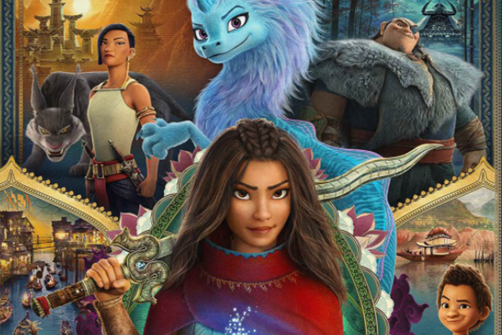 Featured image for Raya and the Last Dragon: Disney's Equivalent of Dr. Stone