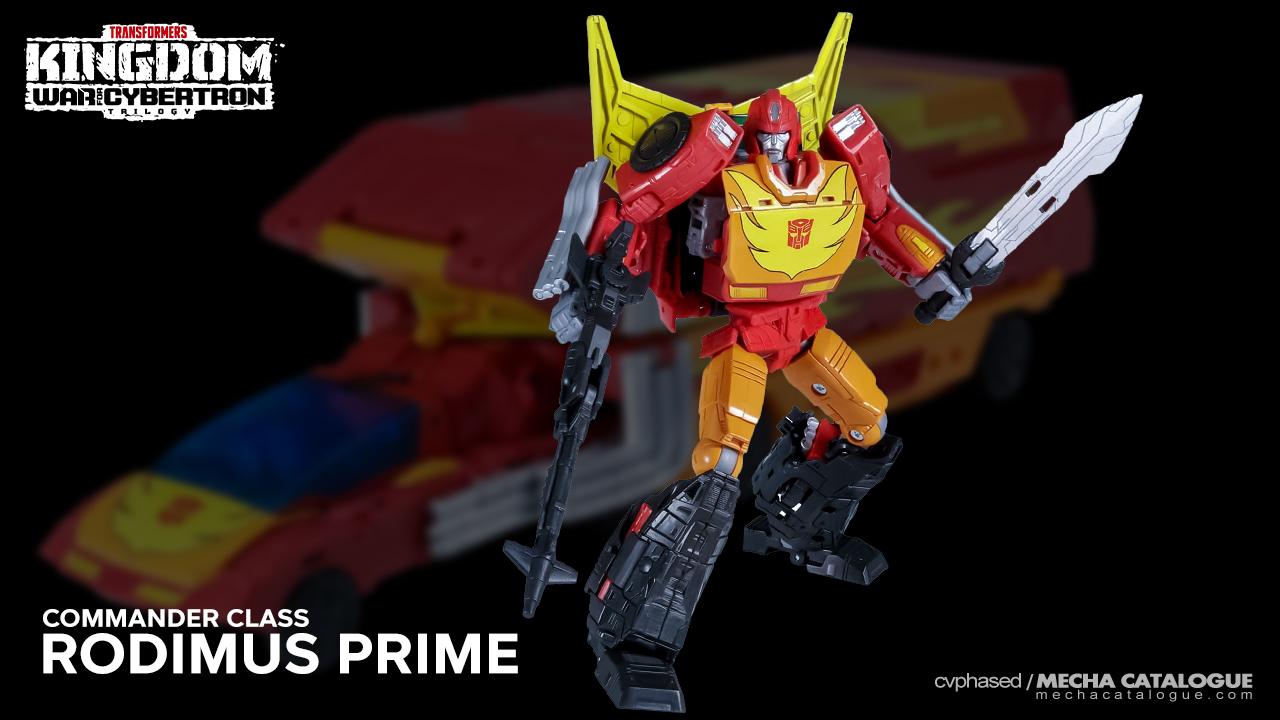 "Featured image for Should've Gotten Hot Rod: ""Transformers Kingdom"" Rodimus Prime"