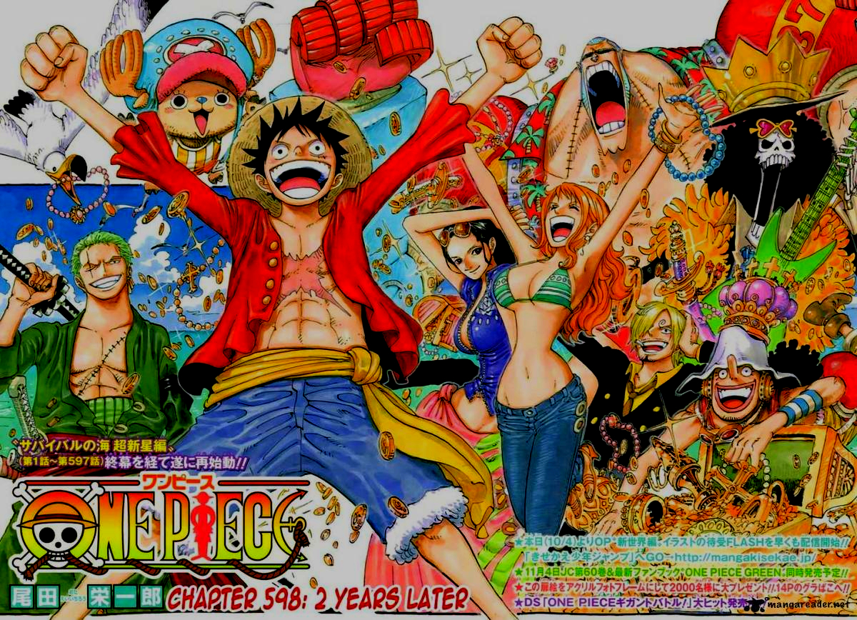 Featured image for Nostalgia Corner: One Piece- My 2nd Place Anime/Manga Of All Time
