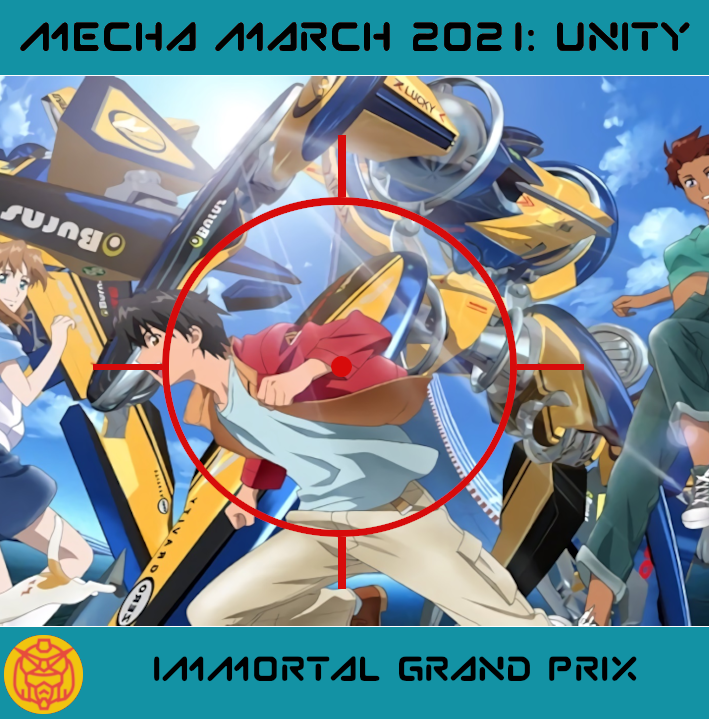 Featured image for #MechaMarch IGPX: Nascar Racing with Mecha Battles