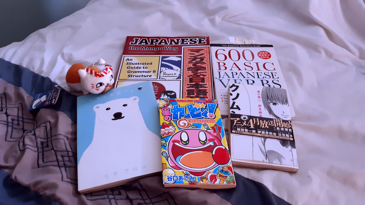Featured image for Learning Japanese through Manga