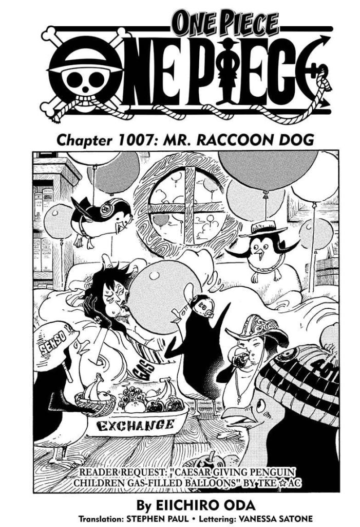 Featured image for One Piece Chapter 1007: Manga Recap and Review