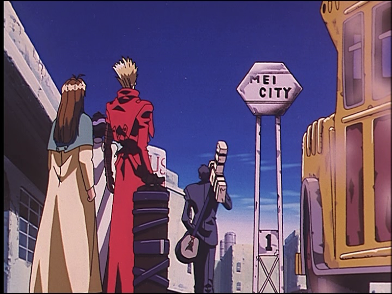 Featured image for Trigun (Toraigan) – The Wolfwood Arc, Episodes 9-11