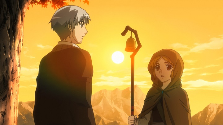 Featured image for Spice and Wolf S1 – 9 [Wolf and the Shepherd's Lamb]