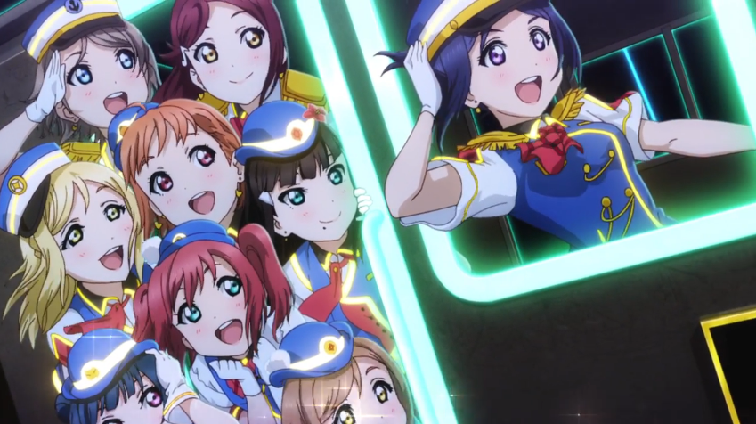 Featured image for Aqours : Happy Party Train (Single Review)