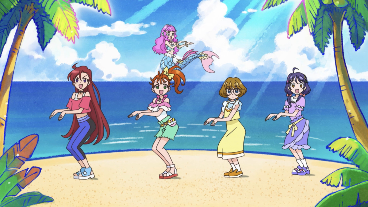 """Featured image for """"Viva! Spark! Tropical-Rouge! Precure"""" — Tropical-Rouge! Precure OP"""