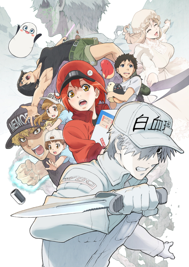 Featured image for Cells at Work!!