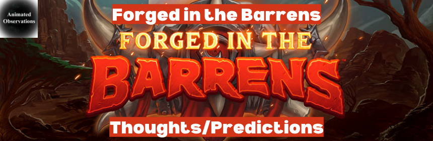 "Featured image for Hearthstone ""Forged in the Barrens"" Set Thoughts and Predictions"