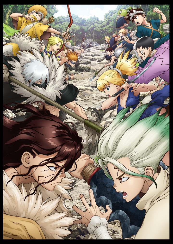 Featured image for Dr. STONE S2 Anime Review 65/100