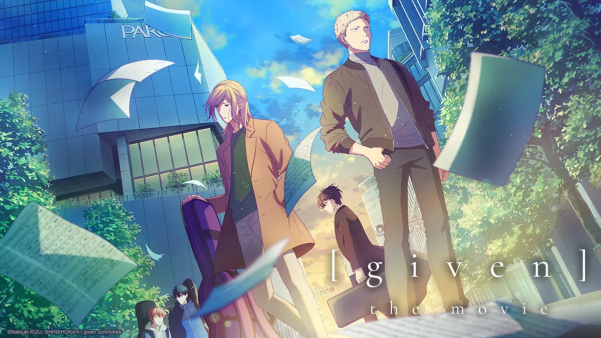 Featured image for Given Movie [Animé review]
