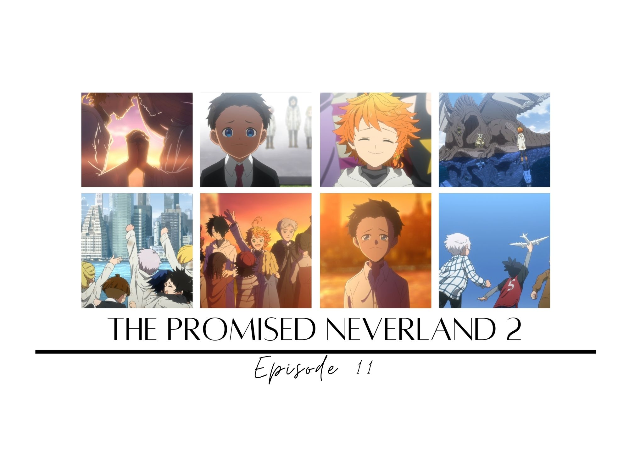 Featured image for The Promised Neverland Season 2 Episode 11: The Journey Home — Crow's World of Anime