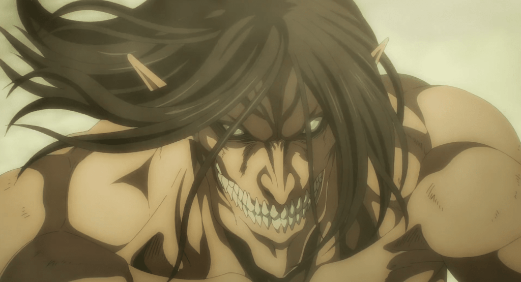 Featured image for The Marleyian nation invades in Attack on Titan Season 4 Episode 16
