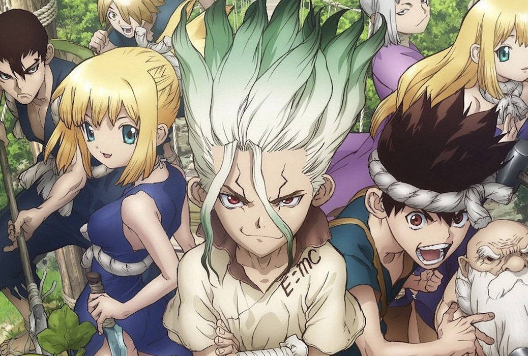 Featured image for Dr Stone – Anime Review