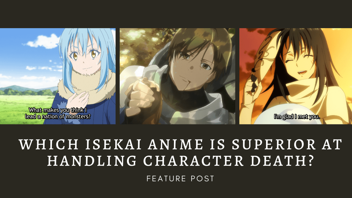 Featured image for Which Isekai Anime Is Superior At Handling Character Death?